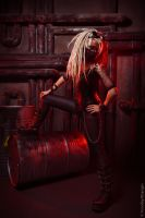 Cybergotic in red by IcyIrena