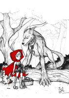 Little Red Riding Hood by juliefofisss