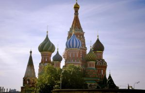 Saint Basils Cathedral by waldrose