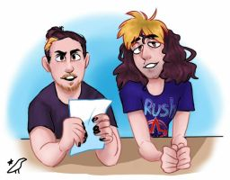 News Grumps by capcrow