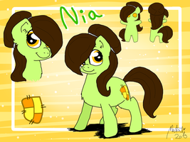 NIA- The Ultimate Reference Sheet by NataliStudios