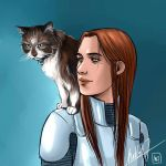 Space Kitty by MellorianJ