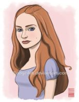Game of Thrones: Sansa Stark by EadgeArt