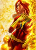 JEAN GREY DOS X-MEN by jdavidlee1979