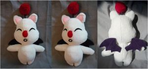 Moogle plush by cloudstrife597