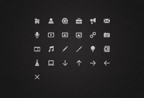 Icons for a Menu by pacovitiello