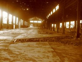 Abandoned Warehouse by LysanderxX