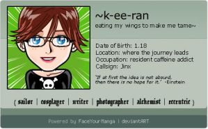 FaceYourManga ID by k-ee-ran