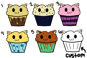 Muffin cat adoptables CLOSED by AmazingAdoptablez
