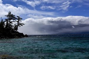 Spring Snow Storm at Tahoe by sellsworth