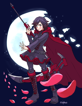 RWBY: Ruby Rose by Zeighous