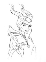 Maleficent by DemonCartoonist