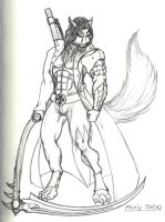 Manly Talon sketch by draks