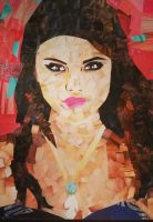 Selena Gomez Magazine Scraps Collage by Coastal-Harmony