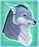 Water Wolf by SuperiorDragonFan