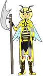 Bee Contest Entry Thinger by Ask-Molly-Hyoomen