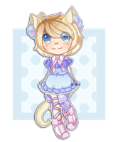 SET PRICE:: Blue Lil Kitty [ OPEN ] by SireFluffButt