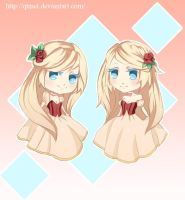 Rose Twins by Qtmei