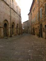 Medieval street from Tuscany - Italy by Simbores