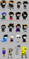 Homestuck according to my mom by uglyduckbella