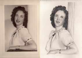 Betty Horne comparison by artemiscrow