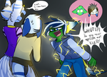 TMNT ND : Sibling kind of argue by xX-AirinNix-Xx