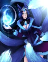 Regal Ahri by NIELSPETERDEJONG