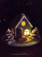 Magic Winter House by GingerbreadFairy