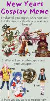 Cosplay Meme 2012 by FreakyOrange
