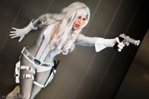 Silver Sable from Wade Wilson's War by Miracole