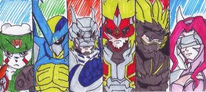 Digimon Frontier by Marianne2O