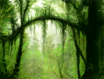 Green Forest by BunnyFroofroo
