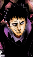 Quick PS Coloring - Naruto 599 - TOBI = OBITO !!! by InMoeView