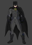 Batman Recolor by AsheArmstrong