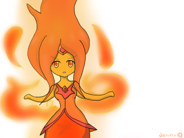 Chibi Flame Princess by kawaiigirl300