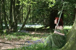 Forest Maiden : Stock by Ange1ica-Stock