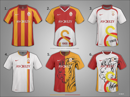 Galatasaray Jerseys Work by AYDeezy
