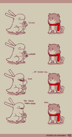 Rabbit and Crayon weekly comic - Tastes by DaveRabbit