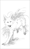 AT.: Tatchit .:Outline :. by WhiteSpiritWolf