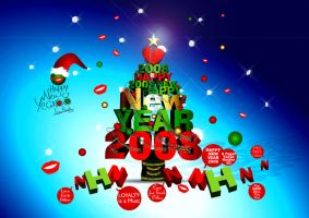 Happy Belated 2008 by nicy2002