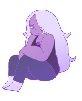 Amethyst Steven Universe by ToxicBiscuits