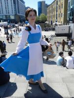 belle cosplay mcm 2012 by Fembot13