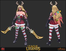 Slay Belle Katarina Mesh by HecM