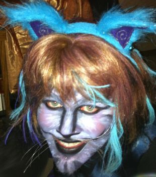 Cheshire Cat  halloween2010 by AsrielBrokenHearted