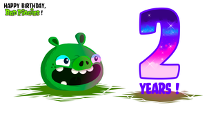 Happy Birthday, Bad Piggies ! by Stormtrooper-pig