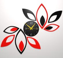 Wall Design Clock by signora3d