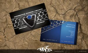 Anthony Molnaar: Business Card by pentatonic-ripper