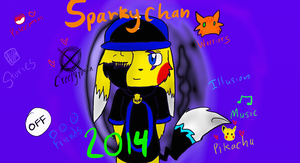 Deviant ID 2014 by SparkyChan23