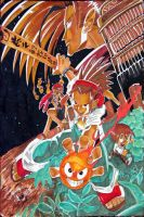 shaman king poster by EatToast