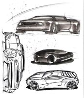 sketching cars... by cheetor182